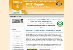 PST Repair Software