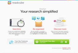 Find, read and organize academic papers - a pleasure to use