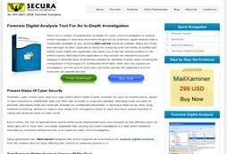 Forensic Digital Analysis Software
