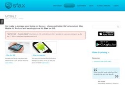 Sfax - Cloud Fax Service