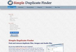 Simple Duplicate Finder