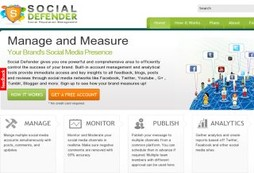 Social Defender - Social Media Monitoring Tool
