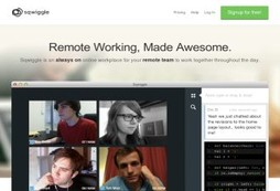 Keep up with your remote co-workers with video that is always on