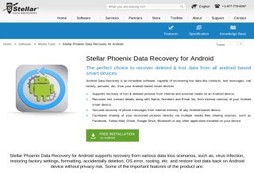 Stellar Phoenix Data Recovery for Android