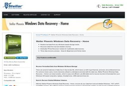 Stellar Phoenix Software for Windows Data Recovery