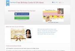 Create your own personalized and meaningful eCards