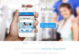 The only fitness app with real, live, human, personal trainers