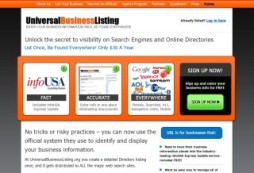 Universal Business Listing
