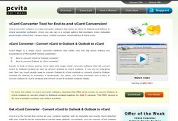 Outlook to vCard Converter Software