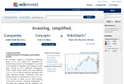 Investing Wiki with Research about Companies