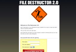 File Destructor 2.0