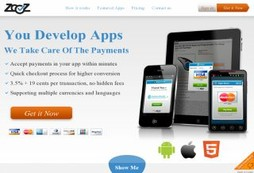 A complete payment process for smartphones